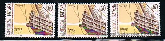 Sellos: 1992 ESPAÑA MAR y BARCOS (3157) (3163) (3164 a 3187) (3191) (3195) (3196) (3204 a 3209) (3223) - Foto 11 - 28809529