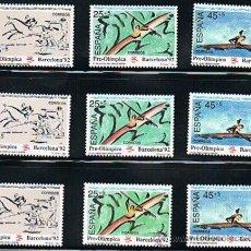 Sellos: 1991 ESPAÑA MAR Y BARCOS (3104 A 3106) (3107) (3133) (3141) (3150 A 3151) . Lote 28809723