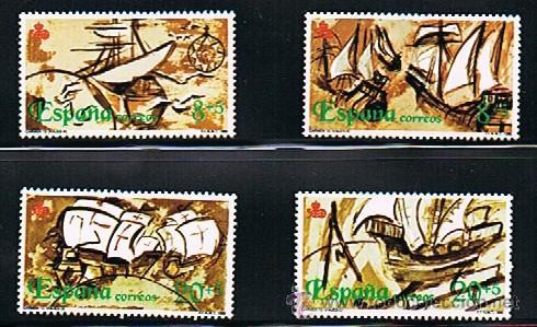 Sellos: 1990 ESPAÑA MAR y BARCOS (3050 a 3053) (3079 a 3082) (3079C) - Foto 2 - 28811553