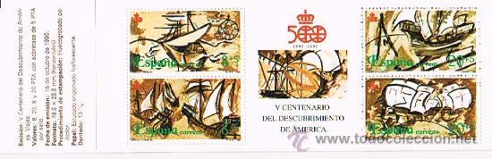 Sellos: 1990 ESPAÑA MAR y BARCOS (3050 a 3053) (3079 a 3082) (3079C) - Foto 3 - 28811553
