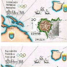 Sellos: 1988 ESPAÑA MAR Y BARCOS (2956) (2957 A 2958) (2969 A 2974). Lote 28811733