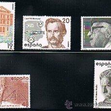 Sellos: 1987 ESPAÑA MAR Y BARCOS (2880 A 2884) (2885) (2916) (2919 A 2924) (2919C). Lote 28811945