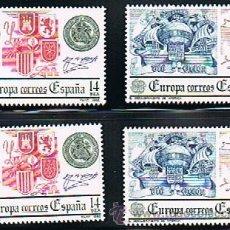 Sellos: 1982 ESPAÑA MAR Y BARCOS (2657 A 2658). Lote 28812208