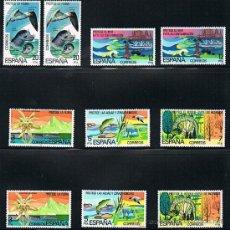 Sellos: 1978 ESPAÑA MAR Y BARCOS (2469 A 2473) (2477 A 2479) (2480). Lote 28812621