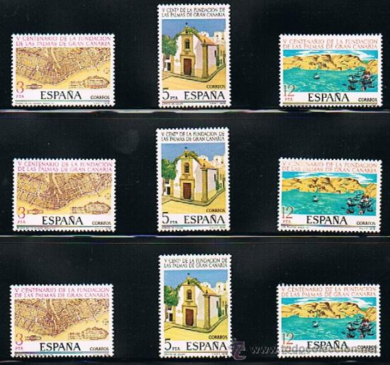 Sellos: 1978 ESPAÑA MAR y BARCOS (2469 a 2473) (2477 a 2479) (2480) - Foto 2 - 28812621
