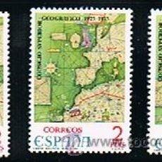 Sellos: 1974 ESPAÑA MAR Y BARCOS (2172) (2180 A 2182). Lote 28813087