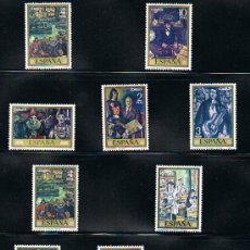 Sellos: 1972 ESPAÑA MAR Y BARCOS (2077 A 2084) (2098 A 2101) (2107 A 2110). Lote 28814263