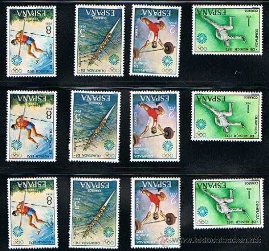 Sellos: 1972 ESPAÑA MAR y BARCOS (2077 a 2084) (2098 a 2101) (2107 a 2110) - Foto 2 - 28814263