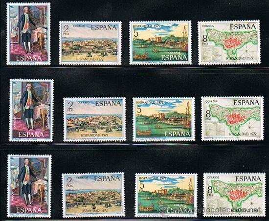 Sellos: 1972 ESPAÑA MAR y BARCOS (2077 a 2084) (2098 a 2101) (2107 a 2110) - Foto 3 - 28814263