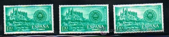 1967 ESPAÑA MAR Y BARCOS (1789) (1818) (1819 A 1826) (Sellos - Temáticas - Barcos)