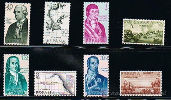 Sellos: 1967 ESPAÑA MAR y BARCOS (1789) (1818) (1819 a 1826) - Foto 4 - 28816278