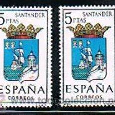 Sellos: 1965 ESPAÑA MAR Y BARCOS (1636) (1643 A 1652). Lote 28816454