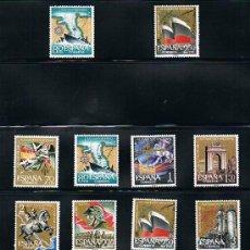 Sellos: 1961 ESPAÑA MAR Y BARCOS (1353 A 1364) (1374 A 1381). Lote 28816813