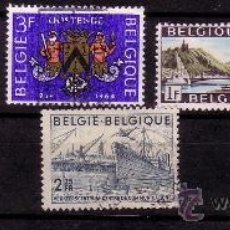 Sellos: BARCOS BELGICA . Lote 36193090