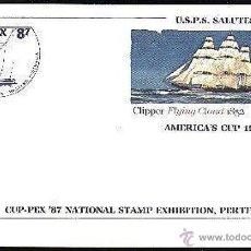 Sellos: USA 1986 ENTERO POSTAL COPA AMERICA. Lote 6378993