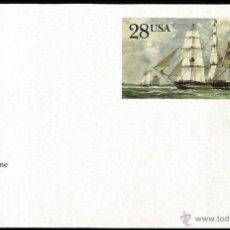 Sellos: USA 1988 ENTERO POSTAL YORKSHIRE. Lote 6378871