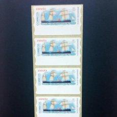 Sellos: ESPAÑA.AÑO 2002.ATMS./BARCO DE EPOCA.. Lote 55694916