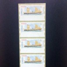 Sellos: ESPAÑA.AÑO 2002.ATMS/BARCO DE EPOCA.. Lote 55694995