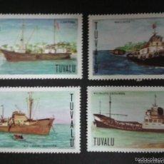 Sellos: TUVALU 1978 IVERT 66/68 *** BARCOS. Lote 58004118