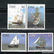 Sellos: SELLOS BARCOS IRLANDA 1998 1089/92 4V. TALL SHIPS RACE 1998. Lote 72100171