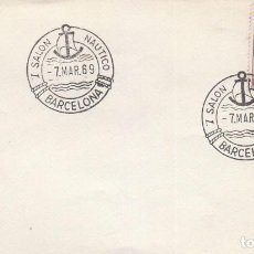 Sellos: AÑO 1969, SALON NAUTICO DE BARCELONA (B). Lote 97594942