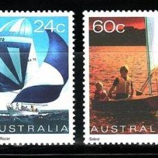 Sellos: SELLOS BARCOS AUSTRALIA 1981 758/61 4V.. Lote 76328119