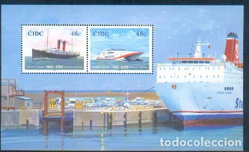 IRLANDA ** & BARCOS 2006 (31) (Sellos - Temáticas - Barcos)