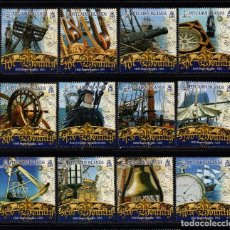 Sellos: PITCAIRN 673/84** - AÑO 2007 - BARCOS - HMS BOUNTY. Lote 80906004