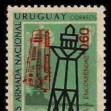 Sellos: URUGUAY 1971 FARO Y BOYA **. Lote 92302798
