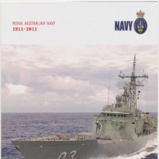 Sellos: AUSTRALIA 2011 CENTENARY ROYAL AUSTRALIAN NAVY PRESENTATION PACK . Lote 104496871