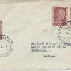 Sellos: 1954. ARGENTINA. MATASELLOS/POSTMARK. EXPOSICIÓN FILATÉLICA METROPOLITANA. BARCOS/SHIPS.. Lote 109697903