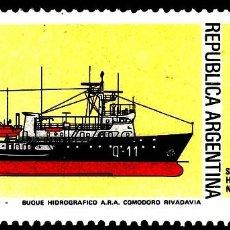 Sellos: SELLOS BARCOS ARGENTINA 1979 1179 1V.. Lote 110249135