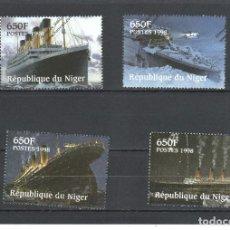Sellos: NIGER Nº 1092 AL 1095 (**). Lote 112774063