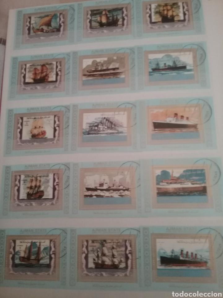 Sellos: SOBRE LAS AGUAS (I). Clasificador (nuevo,6 hojas)Tematico Barcos. Veleros.Submarinos. Hay que verlo! - Foto 2 - 114088235