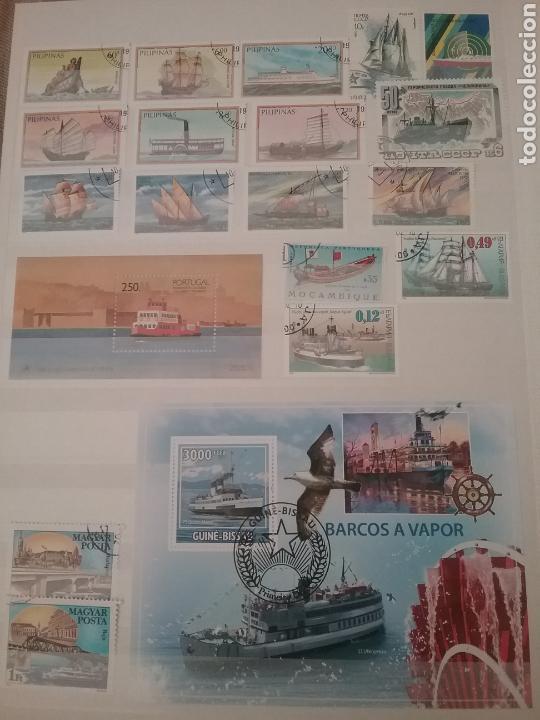 Sellos: SOBRE LAS AGUAS (I). Clasificador (nuevo,6 hojas)Tematico Barcos. Veleros.Submarinos. Hay que verlo! - Foto 4 - 114088235