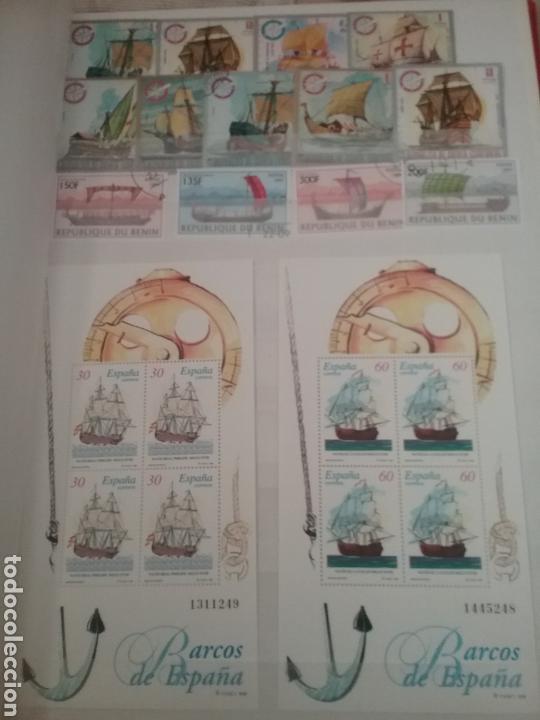 Sellos: SOBRE LAS AGUAS (I). Clasificador (nuevo,6 hojas)Tematico Barcos. Veleros.Submarinos. Hay que verlo! - Foto 5 - 114088235
