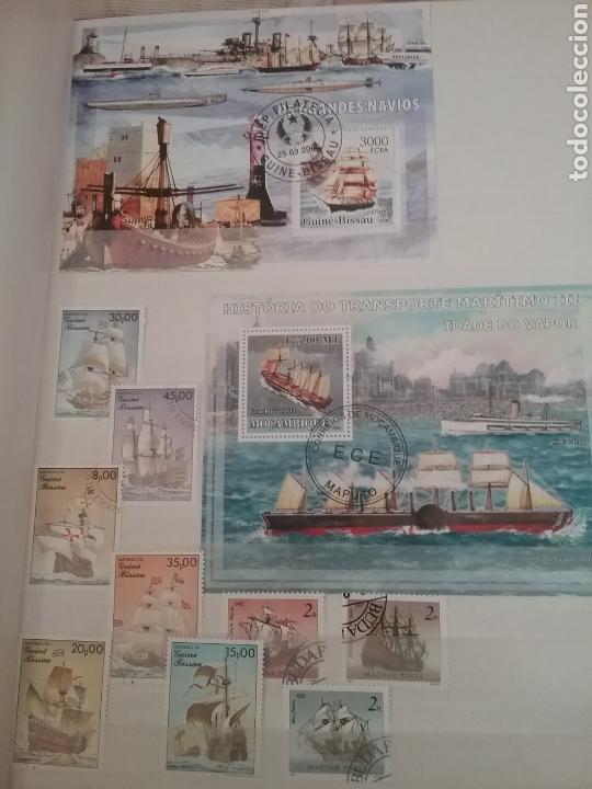 Sellos: SOBRE LAS AGUAS (I). Clasificador (nuevo,6 hojas)Tematico Barcos. Veleros.Submarinos. Hay que verlo! - Foto 7 - 114088235