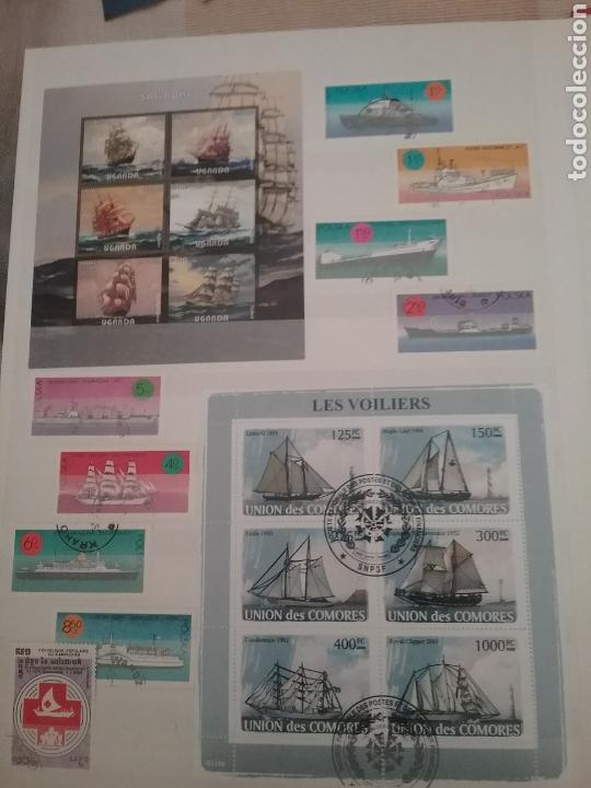 Sellos: SOBRE LAS AGUAS (I). Clasificador (nuevo,6 hojas)Tematico Barcos. Veleros.Submarinos. Hay que verlo! - Foto 10 - 114088235
