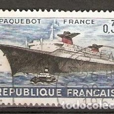 Sellos: FRANCIA.1962. YT.Nº 1325. BARCO. Lote 118030215