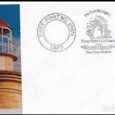 Sellos: USA 1996 FARO PINEY POINT CON FOTO . Lote 121247835