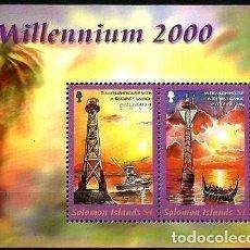 Sellos: ISLAS SALOMON FAROS TULAGI - MUNDA. Lote 121278495