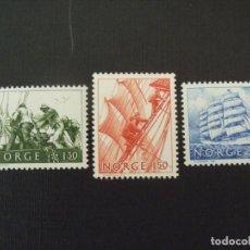 Sellos: NORUEGA Nº YVERT 794/6*** AÑO 1981. LA ERA DE LOS GRANDES VELEROS. Lote 121819123