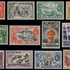 Sellos: NIGERIA 1953. Lote 122100783