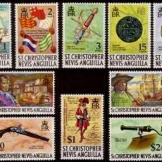 Sellos: SAN CHRISTOPHER-NEVIS-ANGUILLA 1970 **. Lote 122178639