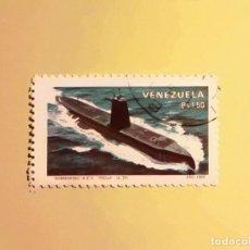 Sellos: VENEZUELA 1980 - SUBMARINO PICUA.. Lote 128137119