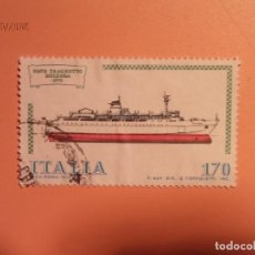 Sellos: ITALIA 1979 - BARCOS - NAVE TRACHETTO DELEDA 1978.. Lote 128140271