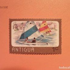 Sellos: ANTIGUA - BARCOS - VELERO.. Lote 128140339