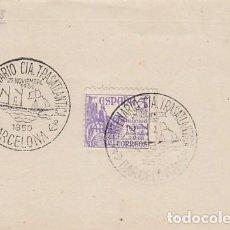 Sellos: AÑO 1950, CENTENARIO DE LA C0MPAÑIA DE NAVEGACION TRASATLANTICA, FRONTAL. Lote 131443382