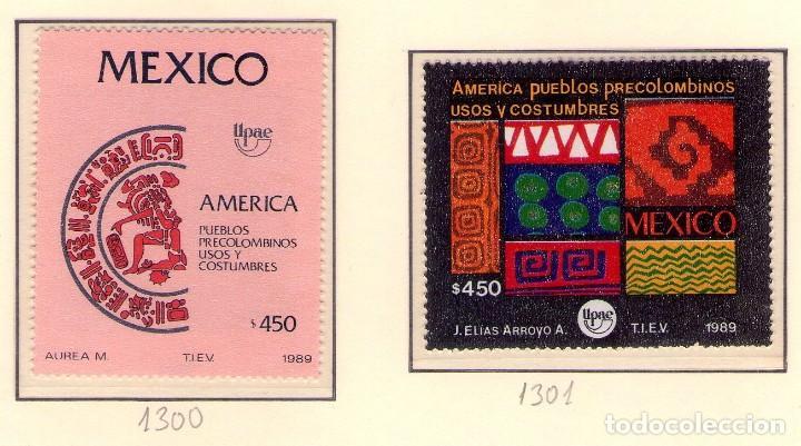 MEXICO 1300-01 UPAEP89 . CRISTOBAL COLON. (Sellos - Temáticas - Barcos)