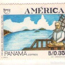 Sellos: PANAMA UPAEP´91, 490 ANIVERSARIO DESCUBRIMIENTO DEL ISTMO.. Lote 195354730